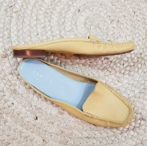 Talbots Leather Mule Loafers